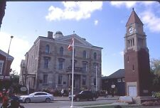 historic structures-Court House Square @ Niagara on the Lake Ontario .Fuji slide