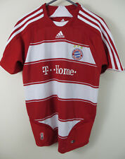 Adidas Bayern Munich 2007 Hogar Camiseta De Fútbol Jersey Boys 30/32 Medio M 11-12