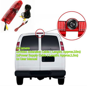 Car Brake Light Backup Rear View Camera for Chevrolet Express Van GMC Savana CAM