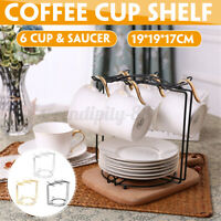 Coffee Mug 6 Cup Tree Stand Cup ing Rack Holder Kitchen Tidy Storage For Xmas