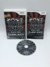 Rock Band Track Pack Classic Rock (Nintendo Wii, 2009) Complete tested