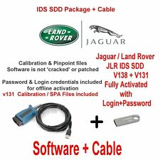 JLR Land Rover Range Rover Vogue Jaguar Diagnostics kit IDS SDD JLR v138 + V131