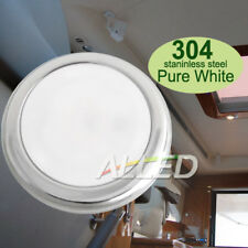 12V Pure White/Daylight LED Cabin Down Light RV/Boat/Marine/Caravan/Ceiling Lamp