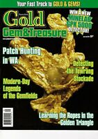 Australian Gold Gem & Treasure Magazines 2014 FREEPOST 10 months available