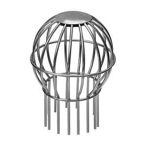 Laubfang Rinnensieb verzinkt 80 mm Dachrinnen Sieb als Laubschutz f/ür den Ablaufstutzen Laubsieb korrosions- und UV-best/ändig Laubfangkorb DN 80