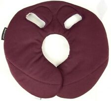 Genuine Maxi Cosi Pebble Red Burgundy Car Seat Head Hugger Cushion Replacement