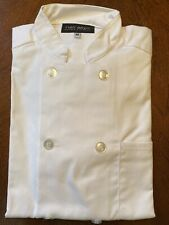 New Ladies White Chef Coatjacket Size M By Neil Allyn Career Apparel Nice