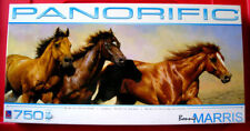 Bonnie Marris WILD & FREE 750 PANORAMIC Jigsaw Puzzle NEW SEALED Running Horses