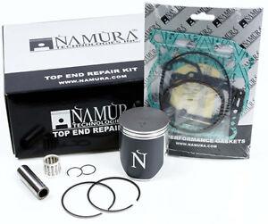 2001-2002 Suzuki RM250 Namura Top End Rebuild Piston Kit Rings Gaskets '01-'02 B