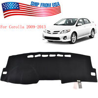 Xukey Fit For Toyota Corolla 2009-2013 Dash Mat Dashboard Cover Dashmat