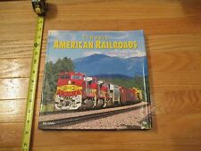 Classic American Railroads Train Trains Railway HC Book