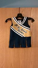St Louis Rams NFL Girls Cheerleader Outfit 12 Months EUC