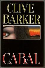 Cabal by Clive Barker SIGNED 1st Edition