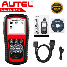 Autel AL619 Scan Tool CAN Diagnostic Tool Scanner Car Code Reader SRS ABS Airbag