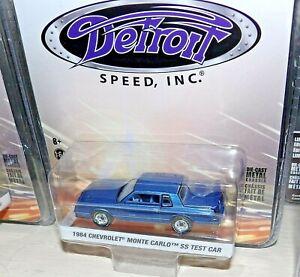 GreenLight DETROIT SPEED 1984 Chevy Monte Carlo SS Test Car