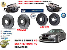 BMW E39 5 Série 520 523 525 Arrière Plaquettes De Freins /& Frein à Main Chaussures WEAR SENSOR//plomb