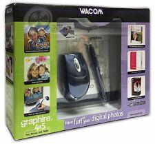 Wacom Graphire 3 4x5 USB Tablet w/Pen, Mouse & Software CD's CTE430SA