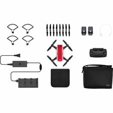 DJI Spark Fly More Combo Lava Red Quadcopter Drone 12MP 1080p Video
