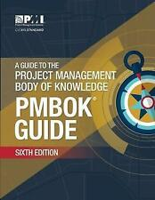 A guide to the Project Management Body of Knowledge (PMBOK guide) by Project Management Institute (Paperback, 2017)