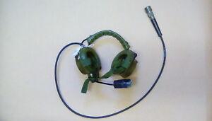 CLANSMAN RACAL HEADSET / MIC ASSY (AGS), NSN  5965 99 649 8166  SOR