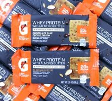 56 Gatorade Recover Whey Protein Bar Almond Butter Chocolate Chip Muscle Recover