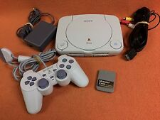 Sony PlayStation Play Station 1 PS1 PSOne Mini System Console Controller Bundle!