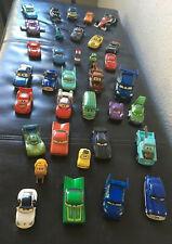 Large Lot of 35 Disney Pixar Diecast Cars Mixed Lot  Die Cast / Plastic Vehicles
