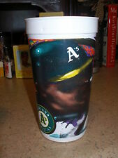 1990's Oakland A's Beverage Tumbler