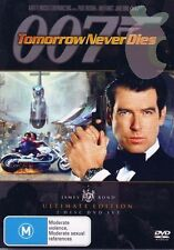 Tomorrow Never Dies (DVD, 2006, 2-Disc Set) Roger Moore ULTIMATE EDITION R4 DVD