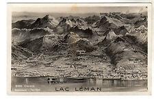 Lac Leman - Mountains - Postcard c1920