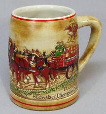 Vintage 80's Budweiser Beer Stein CS19 Mug CS 19