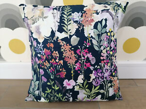 Fryetts Aylesbury Navy Floral Cushion Covers - All Sizes 16 18 inch