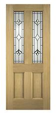 Oak External Front Door Thornbury Glazed 78x33 (1981x838x45mm)