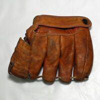 Vintage 1950's Leather Model G52 Baseball Youth Glove Made in USA