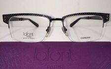 NEW Jean Lafont Olt 100  Black Size 55/18/150 Eyeglasses Frames Eye Glass