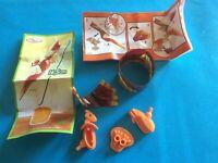 Kinder Nature animali spilungoni - UN 021 con cartina