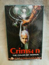 Crimson The Color of Terror 1985 Wizard Beta RARE NR Vintage Horror! NOT VHS