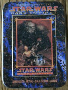 Star Wars 6 Metal Card Set, Dark Empire II, Metallic Impressions