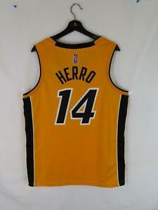 NWT Men's Tyler Herro Miami Heat Nike Swingman NBA Jersey (Lrg) Earned Edition