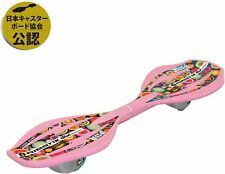 Langs Japan Lipstick Deluxe Mini Pink Caster Board WAVEBOARD F/S DHL from japan