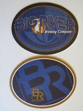 Beer Bar Coaster ~ BIG RIVER Grille & Brewing: Lake Buena Vista, FLORIDA Brewery