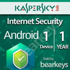 ☑️ Kaspersky Internet Security 2018 - ANDROID - [1 DEVICE] [1 Year]