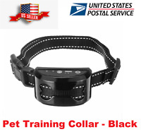 Anti Bark Collar Dog Training shock Stop Barking Rechargeable Auto waterproof