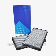 BMW AC Cabin Air Filter Charcoal Carbon Premium Quality 71858 (2pcs)