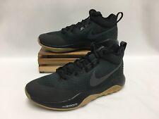 Nike Zoom Rev Basketball Shoes Black Gum 852422-010 Men's Size 10 NEW