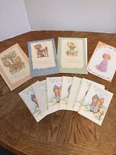 Vintage 1976-1999 Betsey Clark Precious Moments Cards & Post Cards Lot Of 10