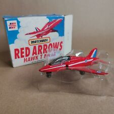 Matchbox Red Arrows Hawk T Mk 1A - Diecast Model Scale 1:100 - WITH BOX