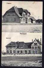 77207 AK Terespol Westpr. Bahnhof Gleisseite 1916 Postamt Feldpost