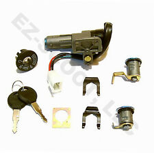 IGNITION LOCK SET CHINESE SCOOTER GY6 4STROKE 50-150cc JONWAY PEACE ROKETA SUNL