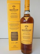 MACALLAN EDITION NO. 3  HIGHLAND SINGLE MALT SOCTCH WHISKY LIMITED EDITION
